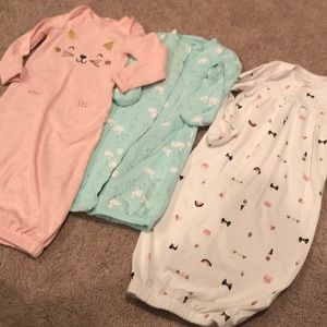 Carter's Sleep Dresses Baby Girl